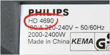 フィリップスシェーバーのマークの意味を教えてください Philips