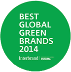 Best global green brand 2014