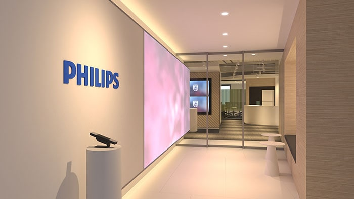 PHILIPS Co-Creation Center reception