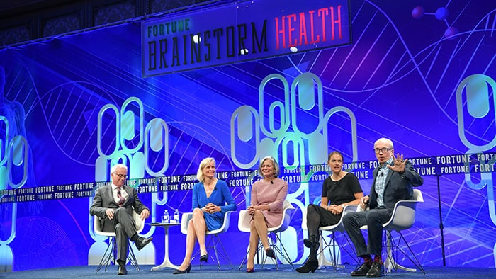 From the front lines of FORTUNE Brainstorm Health with Philips Carla Kriwet